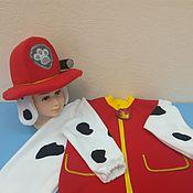 """Работы для детей, ручной работы. Ярмарка Мастеров - ручная работа Костюм карнавальный Маршал (""""Щенячий патруль""""). Handmade."""