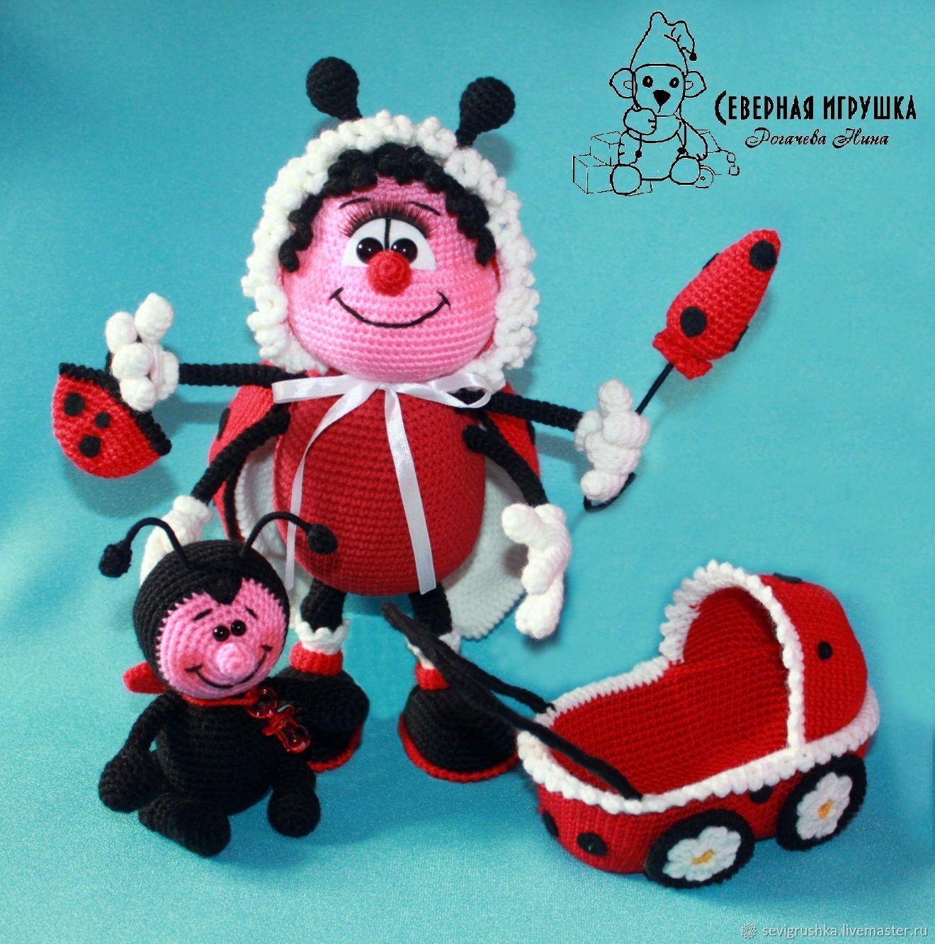 Soft toys: Ladybug baby, Stuffed Toys, Kandalaksha,  Фото №1