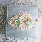 Канцелярские товары ручной работы. Ярмарка Мастеров - ручная работа Альбом на первый годик для мальчика. Handmade.