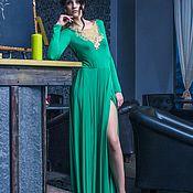Одежда ручной работы. Ярмарка Мастеров - ручная работа Sale 20% Эффектная спинка платья и летящая юбка. Новая цена 11200руб. Handmade.