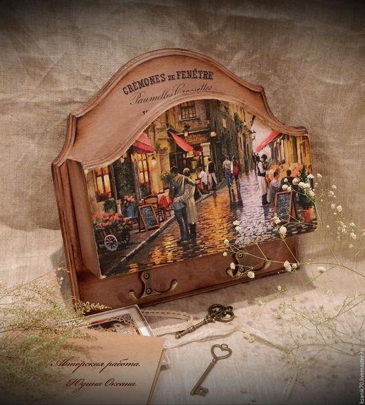 Ключница `Романтическая прогулка` `. Автор Юдина Оксана. Для дома и интерьера.