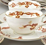 Чайный сервиз Rosenthal Elite (Розенталь) на 6 персон 1940-е гг.