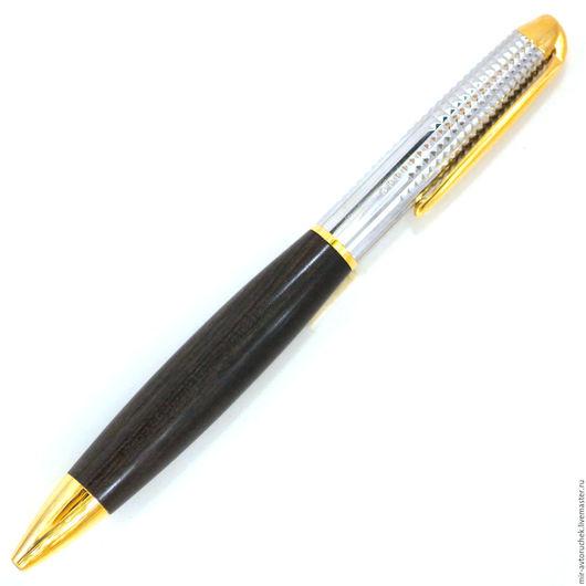 """Карандаши, ручки ручной работы. Ярмарка Мастеров - ручная работа. Купить Авторучка """"Штальман"""" эбен. Handmade. Авторучка, подарок, эбен"""