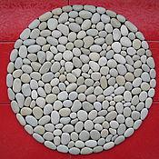 Для дома и интерьера ручной работы. Ярмарка Мастеров - ручная работа Каменный коврик ручной работы. Handmade.