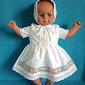 Работы для детей, handmade. Livemaster - original item Christening dress for a girl