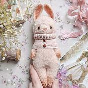 Материалы для творчества handmade. Livemaster - original item Teddy Bunny-crumb (master class on knitting). Handmade.