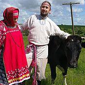 Одежда ручной работы. Ярмарка Мастеров - ручная работа Рубаха мужская. Handmade.