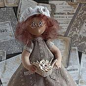 Куклы и игрушки ручной работы. Ярмарка Мастеров - ручная работа Текстильная кукла  Аристократка. Handmade.