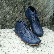 Boots handmade. Livemaster - original item Boots genuine Python leather. Handmade.