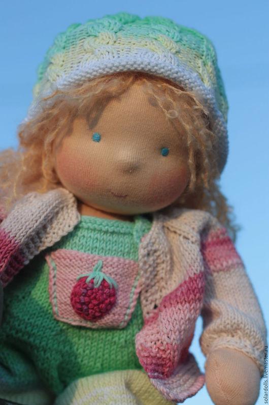 Вальдорфская кукла Марина36 см .Julia Solarrain (SolarDolls) Ярмарка Мастеров