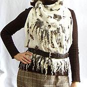 Одежда ручной работы. Ярмарка Мастеров - ручная работа Валяный жилет- трансформер. Handmade.