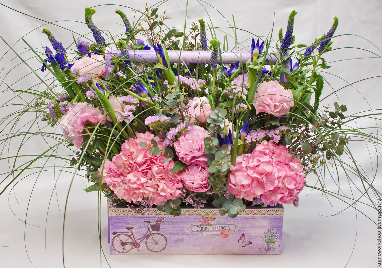 Цветы в руках девушки фото » m - картинки и