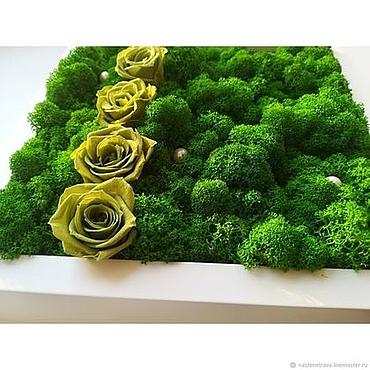 Дизайн и реклама ручной работы. Ярмарка Мастеров - ручная работа Фитокартина Розы. Handmade.