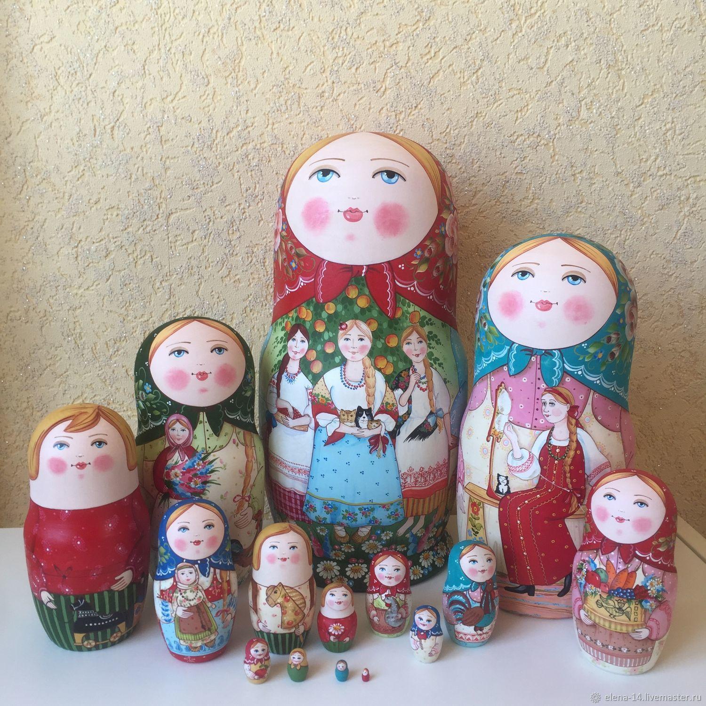 Матрешка 15 местная, Матрешки, Сергиев Посад,  Фото №1