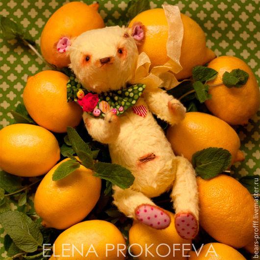 Мишки Тедди ручной работы. Ярмарка Мастеров - ручная работа. Купить Мистер Лимонад и Крошка Маршмеллоу. Handmade. Мишка