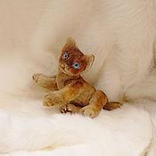 Куклы и игрушки handmade. Livemaster - original item mini kitty. Handmade.