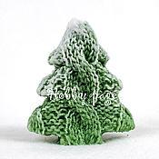 Материалы для творчества handmade. Livemaster - original item Silicone molds for soap Knit herringbone. Handmade.