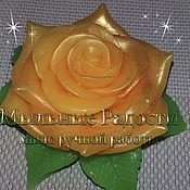 """Косметика ручной работы. Ярмарка Мастеров - ручная работа Мыло """"Винтажная роза"""". Handmade."""