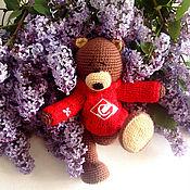 Куклы и игрушки handmade. Livemaster - original item Bear Fan. Handmade.
