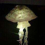 """Для дома и интерьера ручной работы. Ярмарка Мастеров - ручная работа светильник-ночник """"медуза"""". Handmade."""
