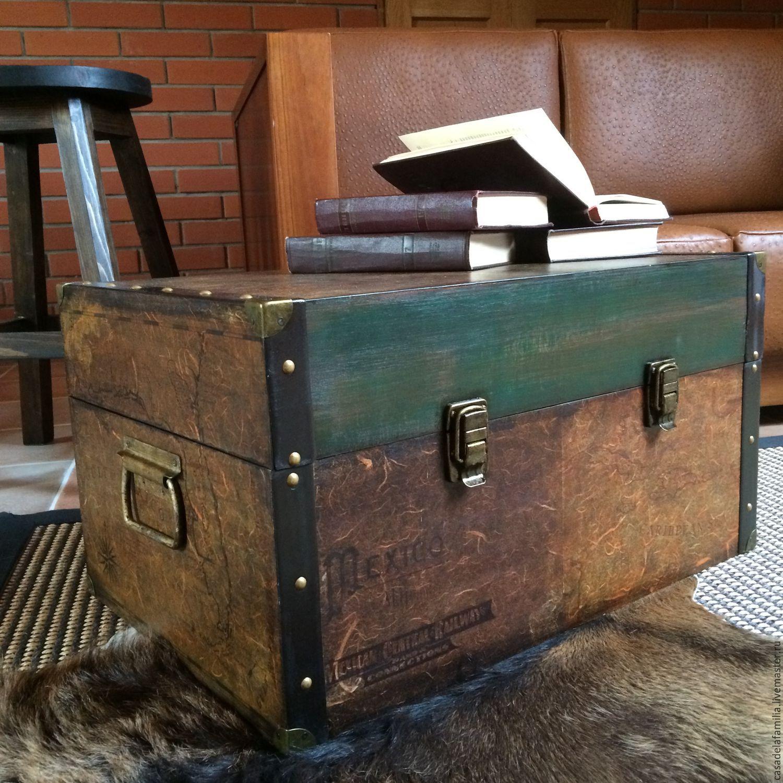 Винтажные сундуки и чемоданы купить недорого рюкзаки спайдер купить оптом со склада