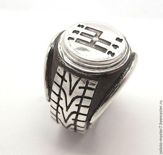 """Кольца ручной работы. Ярмарка Мастеров - ручная работа. Купить Кольцо """"Автомобилист """". Handmade. Серебряный, автомобиль, кольцо шина"""