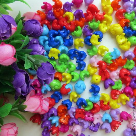 Бусины пластиковые составные для творчества