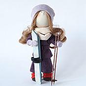 Куклы и пупсы ручной работы. Ярмарка Мастеров - ручная работа Куклы и пупсы: Интерьерная текстильная кукла Катарина. Handmade.