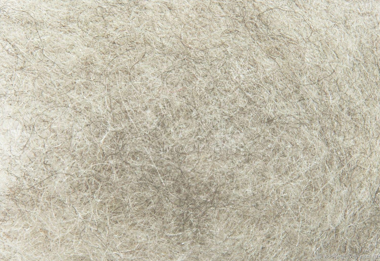 Шерсть Бергшаф кардочес светло-серый (№521) Австрия. 50 г, Материалы, Рига, Фото №1
