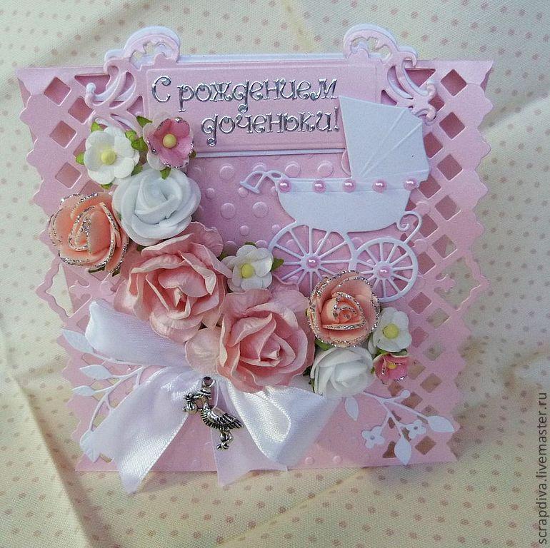 Открытки на день рождения дочке своими руками