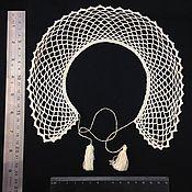 Аксессуары ручной работы. Ярмарка Мастеров - ручная работа Винтажный вязанный воротничок. Handmade.