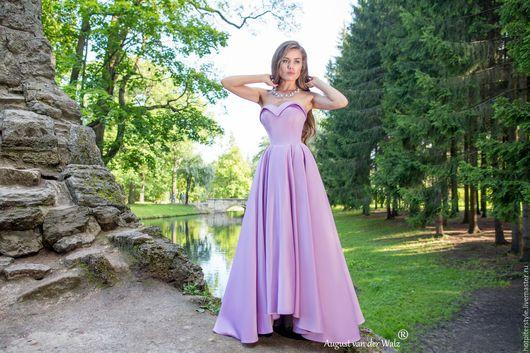Платье вечернее в макси длине, платье с корсетом, дизайнерское платье , ручная работа. Сделано в Санкт-Петербурге.