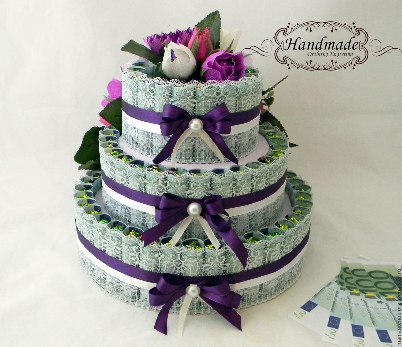Торт на свадьбу своими руками мастер класс 2