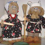 Куклы и игрушки ручной работы. Ярмарка Мастеров - ручная работа Дед и бабка. Handmade.