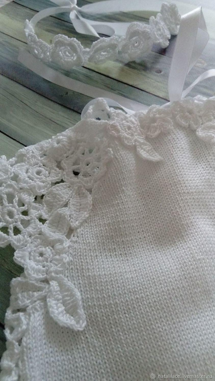 Детское платье из хлопка