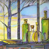 Картины и панно ручной работы. Ярмарка Мастеров - ручная работа В лучах утреннего солнца.... Handmade.