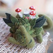 Куклы и игрушки ручной работы. Ярмарка Мастеров - ручная работа Ведьмин круг, валяный дракончик. Handmade.
