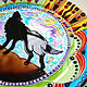 Decorative plate 'Wolf howls at the moon'. Plates. Art by Tanya Shest. My Livemaster. Фото №6