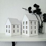 Для дома и интерьера ручной работы. Ярмарка Мастеров - ручная работа Домик Фонарик малый. Handmade.