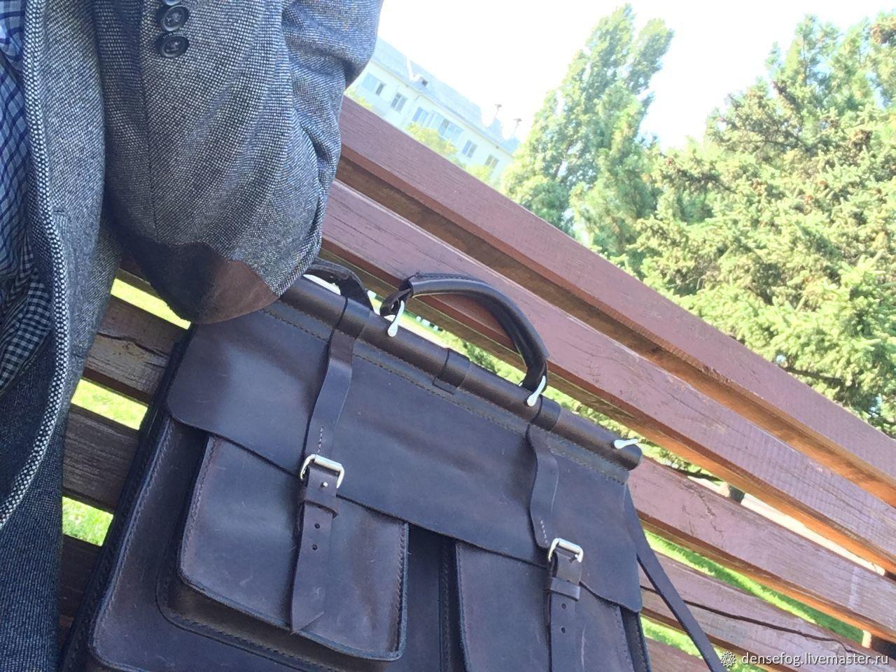 Briefcase leather, Brief case, Samara,  Фото №1