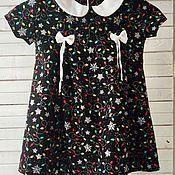Платье ручной работы. Ярмарка Мастеров - ручная работа Новогоднее платье для девочки. Handmade.
