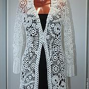 Одежда handmade. Livemaster - original item White lace jacket. Handmade.