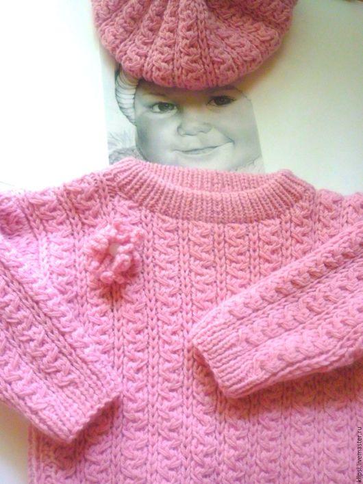 """Одежда для девочек, ручной работы. Ярмарка Мастеров - ручная работа. Купить Комплект для девочки """" Зефирчики"""". Handmade. Бледно-розовый"""