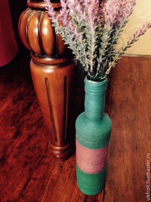 Вазы ручной работы. Ярмарка Мастеров - ручная работа. Купить Ваза Прованс. Handmade. Морская волна, ваза для цветов