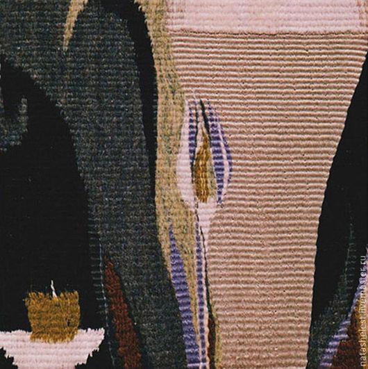 """Гобелен """"Бокал"""". Ручное ткачество. Наталья Шестакова - дизайнер, декоратор."""