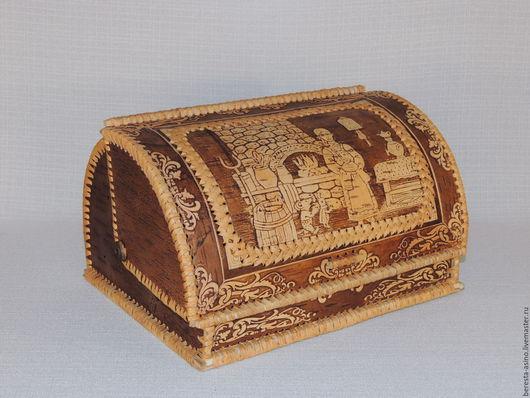 """Кухня ручной работы. Ярмарка Мастеров - ручная работа. Купить Хлебница """"Каравай"""". Handmade. Хлебница, берестяные изделия, купить хлебницу"""