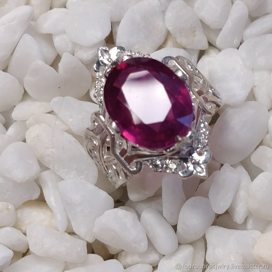 Ring with ruby, Rings, Novosibirsk,  Фото №1