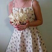 Одежда ручной работы. Ярмарка Мастеров - ручная работа сарафан розы. Handmade.