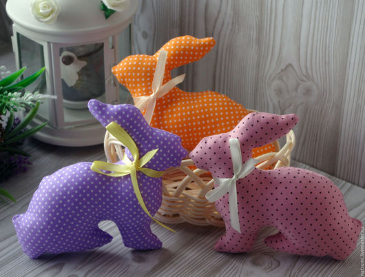 Куклы Тильды ручной работы. Ярмарка Мастеров - ручная работа. Купить Кролики. Handmade. Кролики, заяц, весеннее настроение