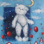 Картины и панно ручной работы. Ярмарка Мастеров - ручная работа Облачный:). Handmade.